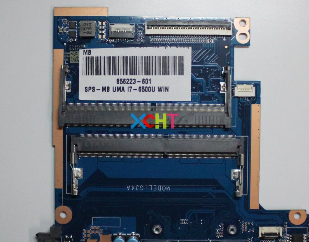 Image 3 - for HP Pavilion Notebook 15 15 A 15T AU000 Series 856223 601 856223 001 UMA i7 6500U Laptop Motherboard Tested & working perfect-in Laptop Motherboard from Computer & Office