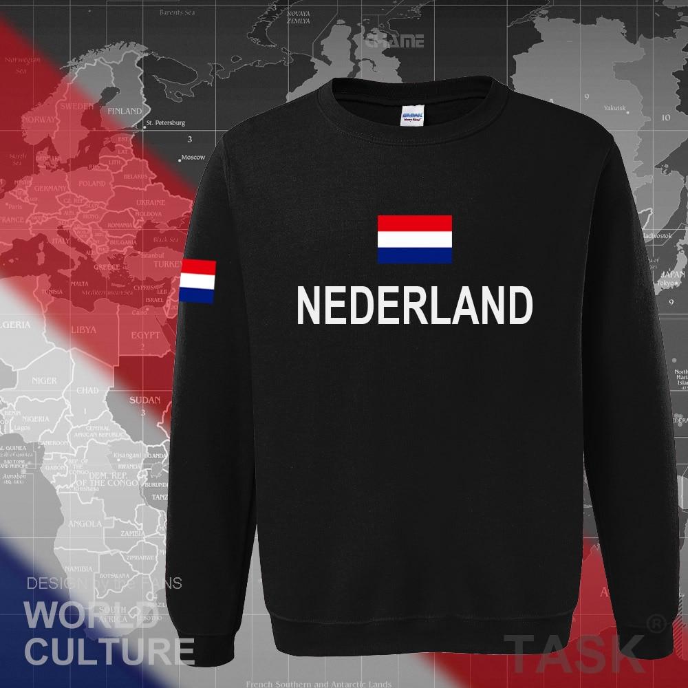Netherlands Nederland 2017 hoodies men sweatshirt sweat new streetwear clothing jerseys tracksuit nation Holland flag Dutch NL 1