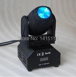 Aliexpress online hurtownie 10 W RGBW led ruchoma głowa mini etap światła na disco światła