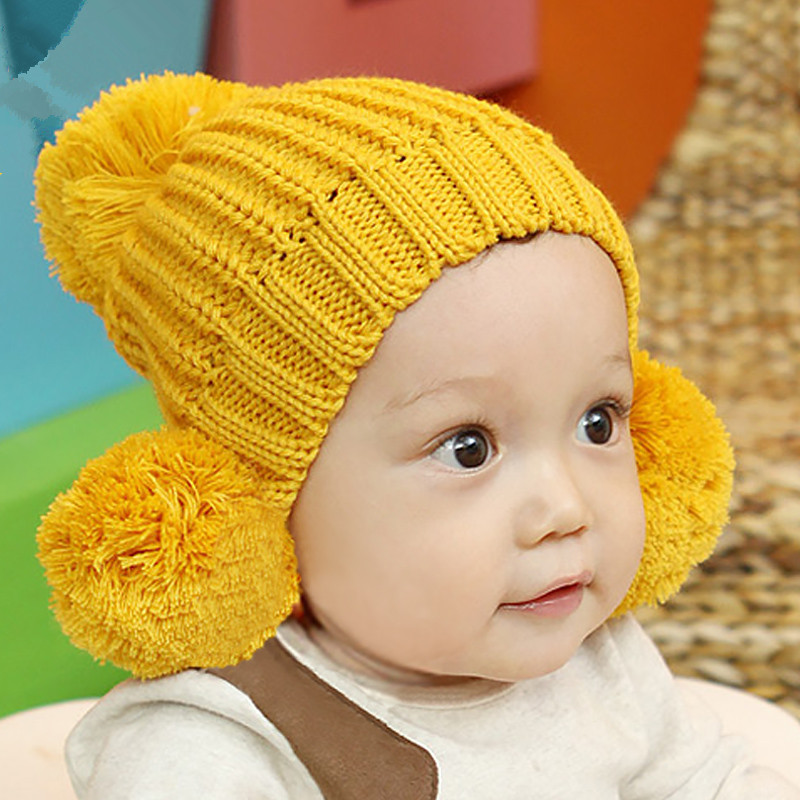 Newborn Baby Beanie Hat Winter Warm Thick Handmade Knitted Hats Photography Prop Caps Accessories Infant Costume newborn baby photography props infant knit crochet costume peacock photo prop costume headband hat clothes set baby shower gift