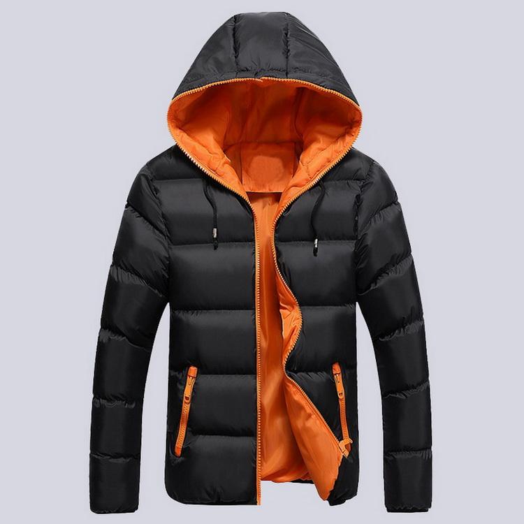2017 Winter Black Hooded 8