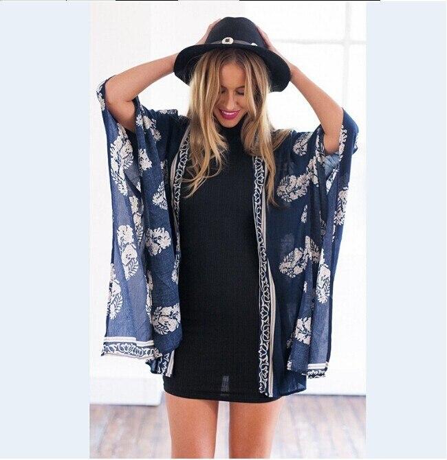 2017 Pareo Swimsuit Beach Cover Up Summer Women Floral Print Swimwear bathing suit Short Sleeve Beach Dress robe De plage sarong