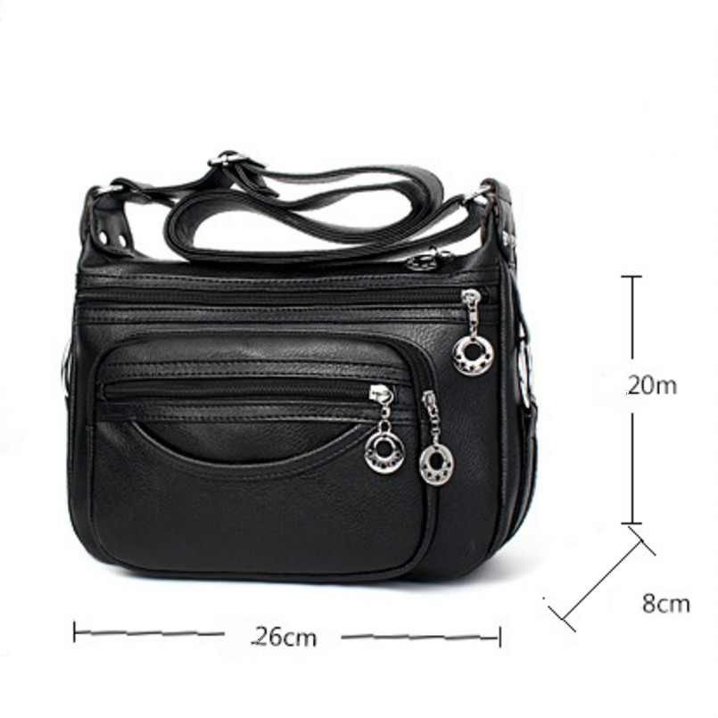 KUJING Fashion Handbags Cheap High Quality Middle-aged Mother Bag Women Shoulder Messenger Bag Hot Female Travel Leisure Package casio g shock gd x6900mc 5e