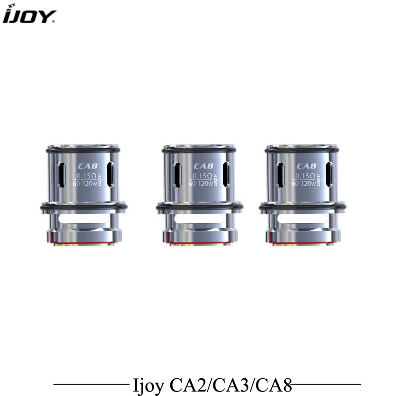 3pcs/lot Atomizer Coil IJOY Captain Head CA2 CA3 CA8 Cores for Captain Suh ohm Tank Captain s SUBOHM Atomizer Vaporizer недорго, оригинальная цена