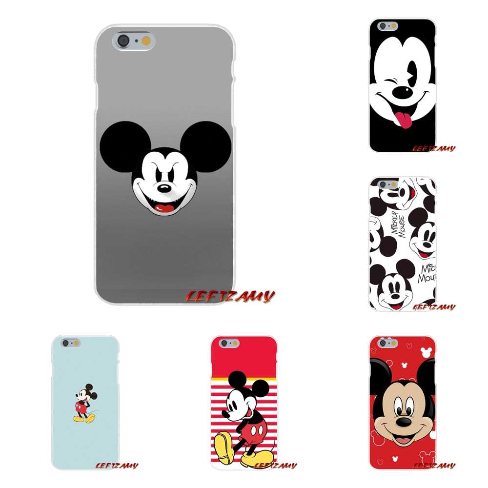 Para Samsung Galaxy A3 A5 A7 J1 J2 J3 J5 J7 2015 2016 2017 bonito dos desenhos animados mickey mouse Acessórios Phone Cases Covers