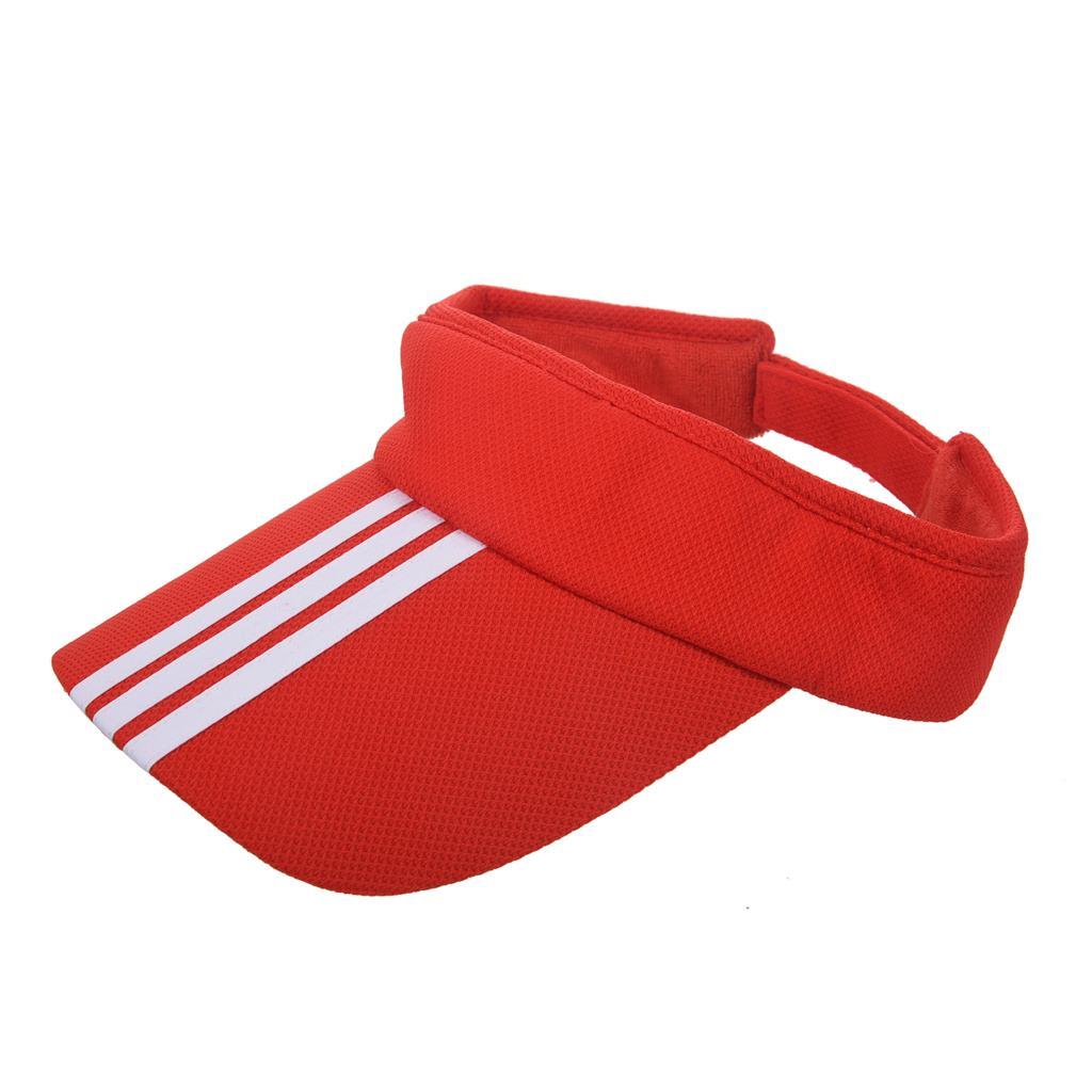 Sun Visor Baseball Caps Plain Hats Adjustable Outdoor Sports Tennis Strap Adult