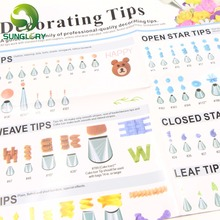 A Guide To The Family Of Professional-Quality Decorating Tips Baking Tools For Cakes Icing Piping Pastry Nozzles Instructions