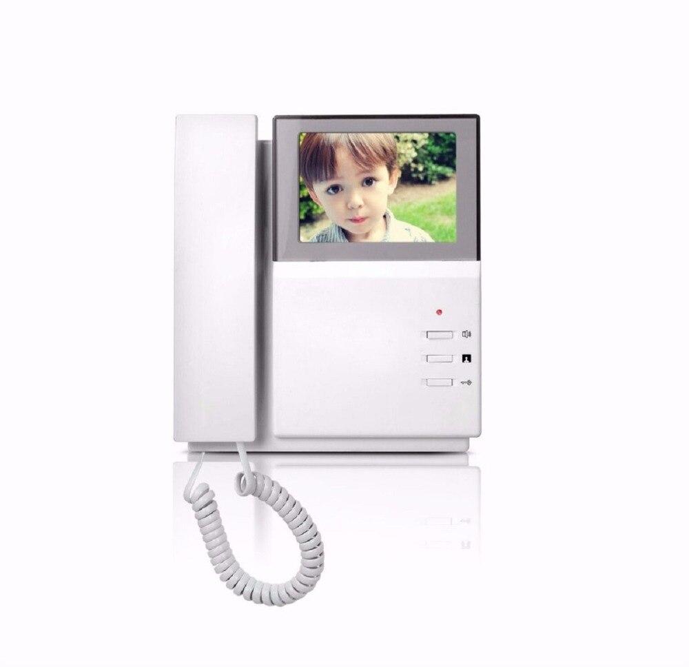 Sicherheit & Schutz Smartyiba 4,3 Zoll Handheld Video Intercom Indoor Monitor Für Apartment Intercom System Farbe Tft Lcd Gebäude Video Intercom Das Ganze System StäRken Und StäRken
