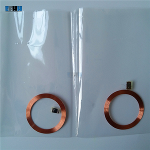 125KHZ T5577/T5557/T5567 Rewritable RFID Tag Coil+Chip Card Inlay Without PVC Cover For Copier Duplicator Access Control Card