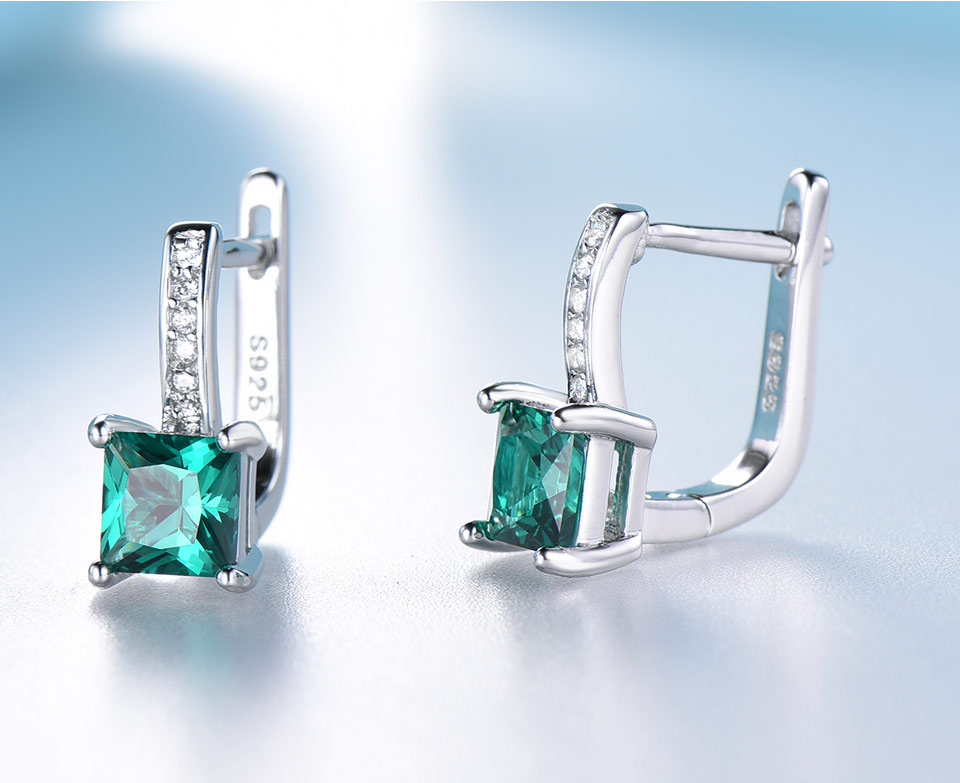 UMCHO-Emerald-silver-sterling-jewelry set-for-women-S005E-1 (8)
