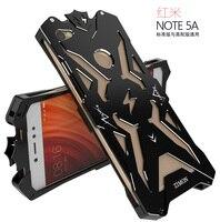 Redmi Note 5AOriginal Design Armor Heavy Dust Metal Aluminum THOR IRONMAN Protect Phone Shell Case Cover