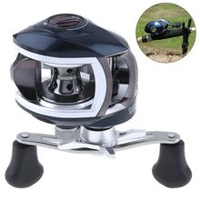 12+1BB High Speed 8.1:1 Gear Ratio Fishing Bait Casting Reels Braking Force 8KG / 17.6LB with Right Left Hand Optional