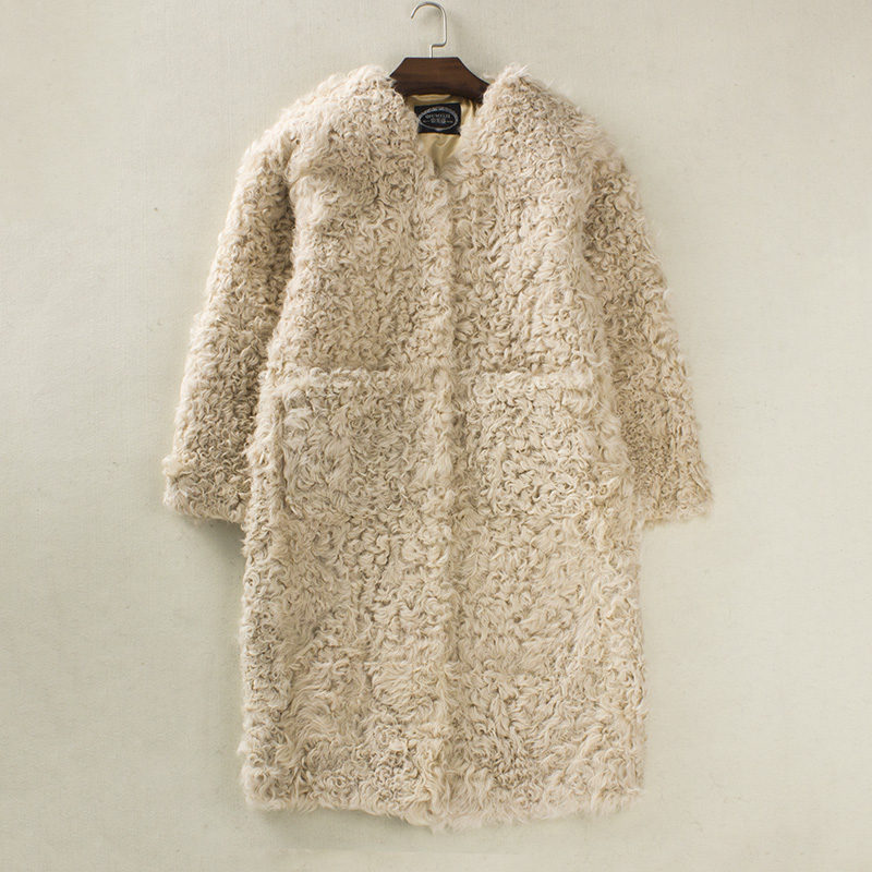 Coloridos casacos de pele das mulheres casaco de pele de cordeiro casacos de pele reais para as mulheres casaco de inverno mulheres