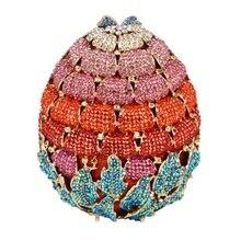 Neueste Luxus Diamant Erdbeere Abend-handtasche für Party Hochzeit tasche Damen Kristall Abendkleid Cocktail Handtasche SC473