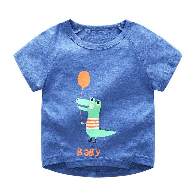 f220b010 Baby Boy Tops Children T shirts Fille 2018 Brand Kids Summer T-shirt for  Boys