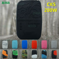 Graceful Silicone Case Cover for CKS 200 Box mod as a nice gift for you inexpensive silicone case 5pcs free shipping