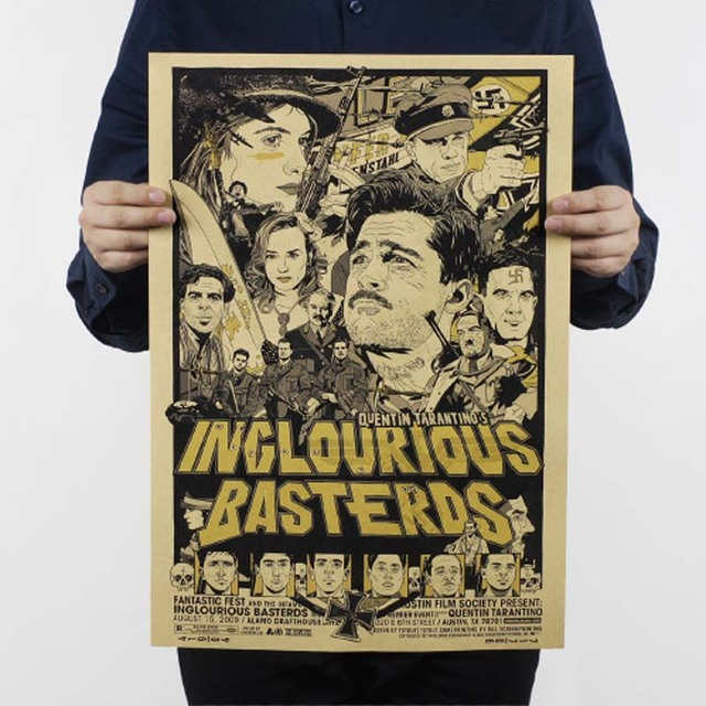 LAITANG Shameless Bastards Vintage Movie Posters Retro Poster Wall ...