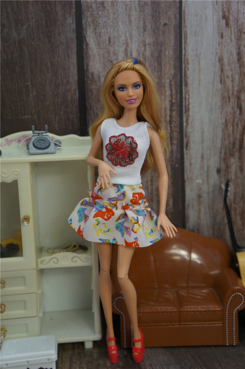Fashion casual princess doll clothes to wear  doll clothes toy doll accessorieBS
