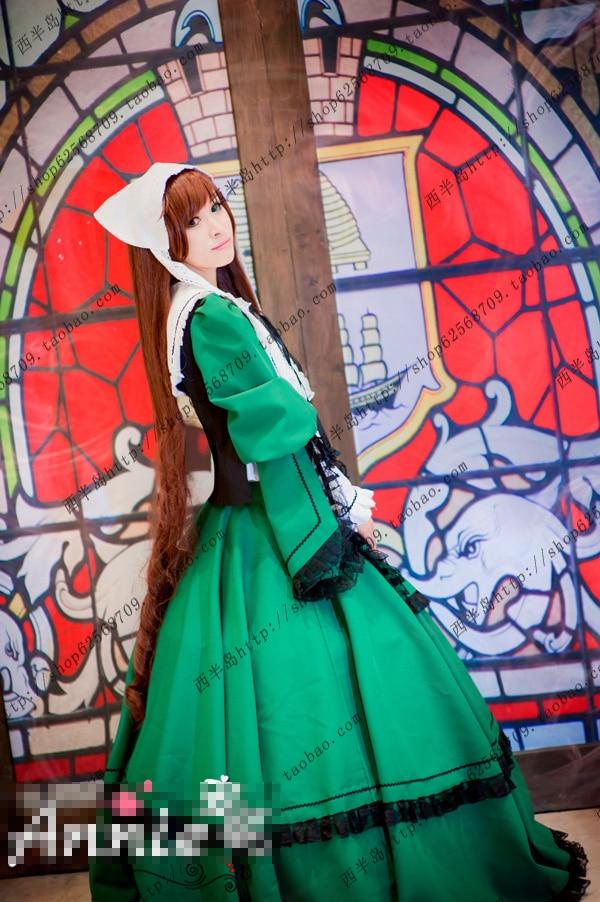 Rozen Maiden Jade Stern cosplay costume