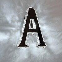 Современный творческий металлические буквы алфавита LED Хрустальный Знак Света в помещении Домашний Декор Спальня проход балкон лестница б