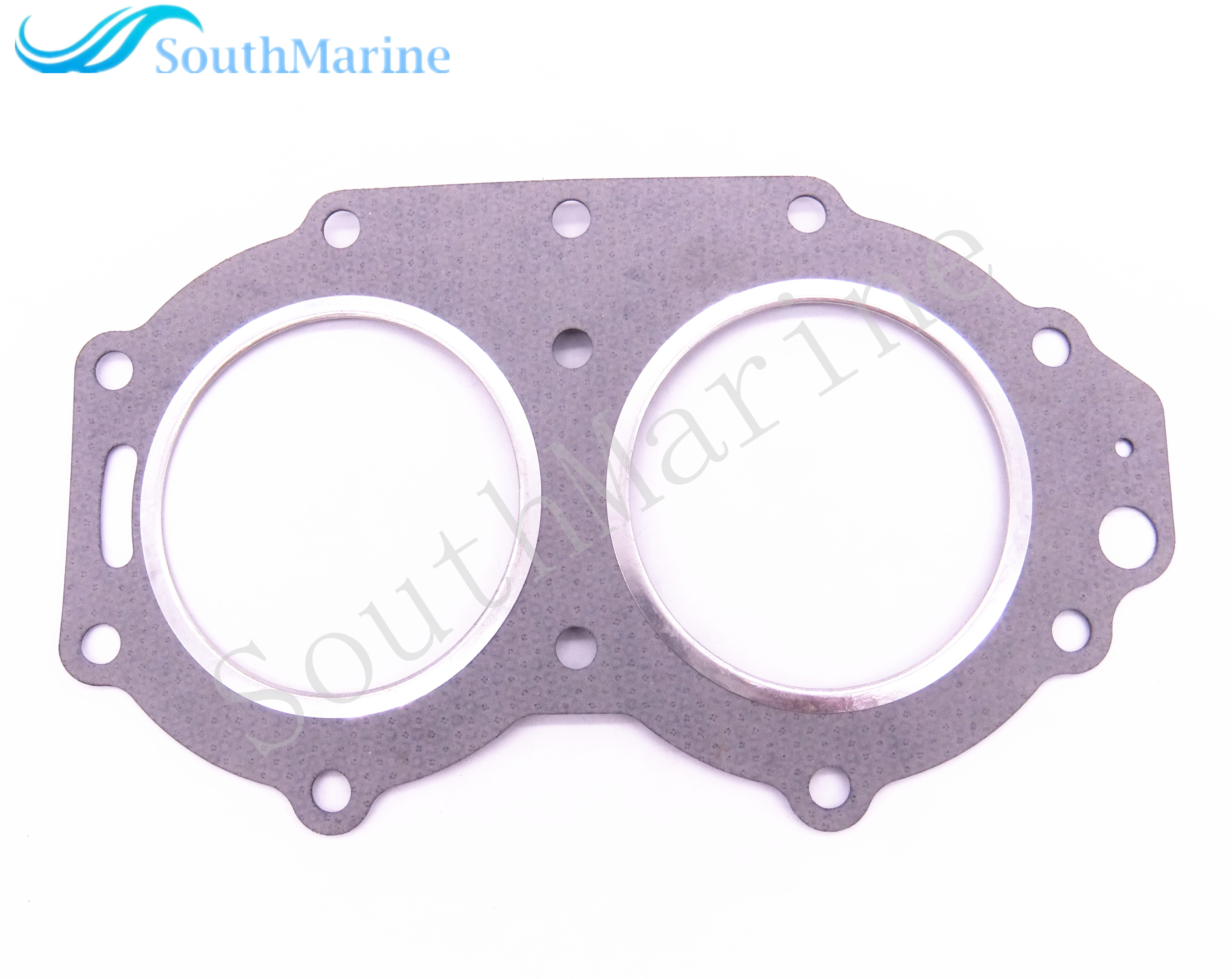 Boat Motor 66T-11181-A2 Cylinder Head Gasket for Yamaha 2-Stroke 40HP 40X E40X Outboard Engine