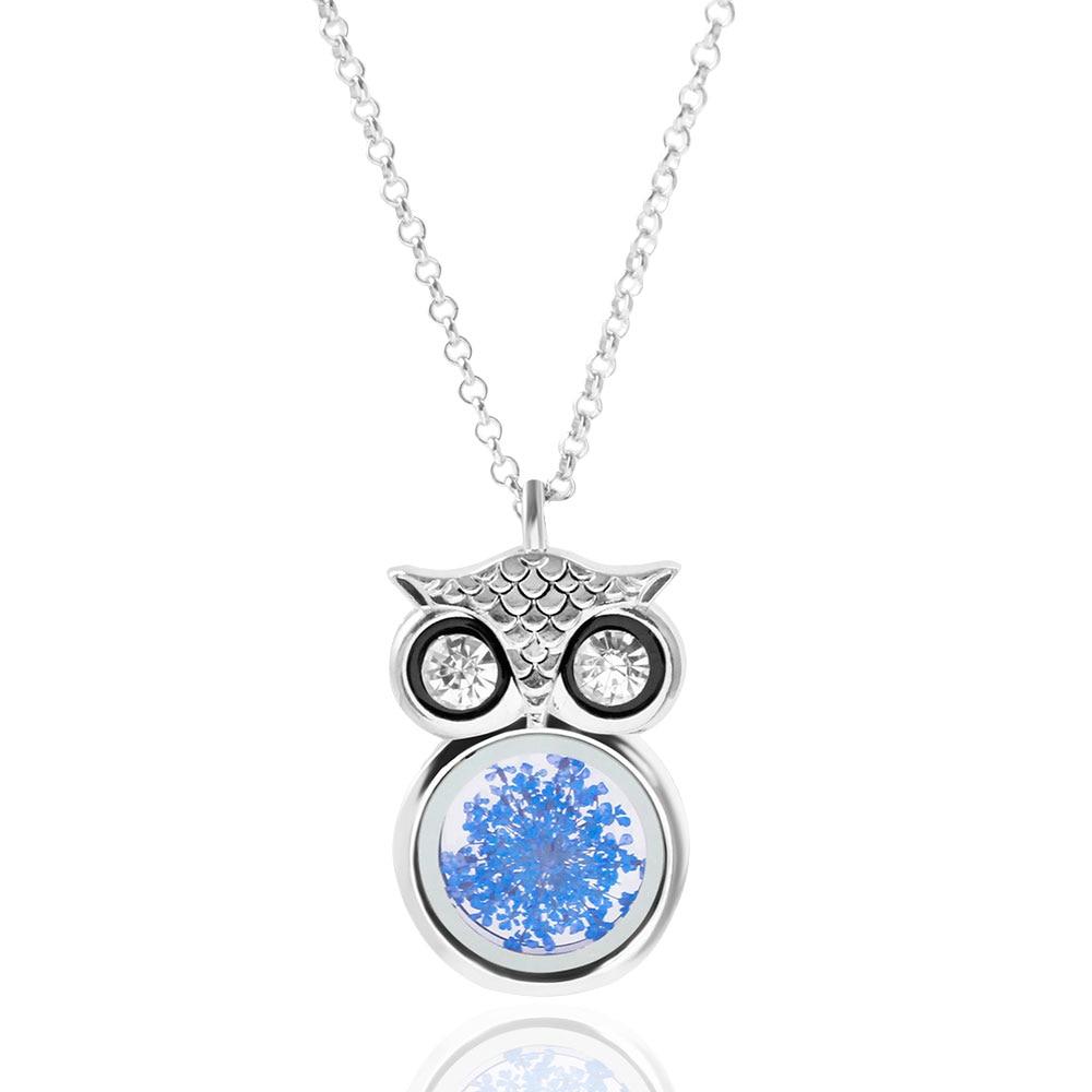 F U Austria Berlian Imitasi Lucu Owl Charm Kalung Liontin Mode Kopi Bubuk Asli Pagar Alam By Butik 3 Size Plg Ibu Gadis Hadiah Pernyataan Perhiasan 2016 Baru