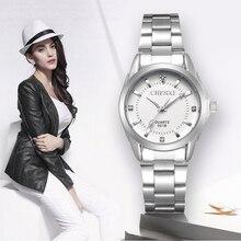 יהלומים מלאכותיים גברת CHENXI אופנה שעונים הנשים קוורץ צפה נשים שורש כף יד שעונים שעון שמלה נשית xfcs relogio feminino