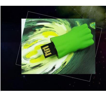 Image 3 - Real Capacity Iron Man USB 2.0 Flash Drive 8g16g64g128g Disk/Creativo Pendrive/Memory Stick/Gift Avengers Hulk Hand Pen Drive-in USB Flash Drives from Computer & Office