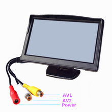 Car-Monitor Color-Screen Reverse-Parking-Assistance TFT LCD with 2-Av-Input 5-Hd800--480