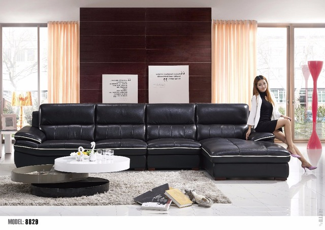 2015 new model sofa,l shape sofa cover-in Living Room Sofas from ...