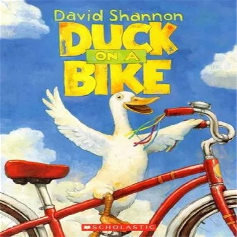 Free Shipping Children English Picture Book David Shannon Classic Picture Book Duck On A Bike Author Kedik Award