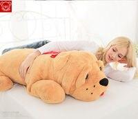 47 plush toy Bulldog dog doll stuffed animals kids soft toys pillow 120CM