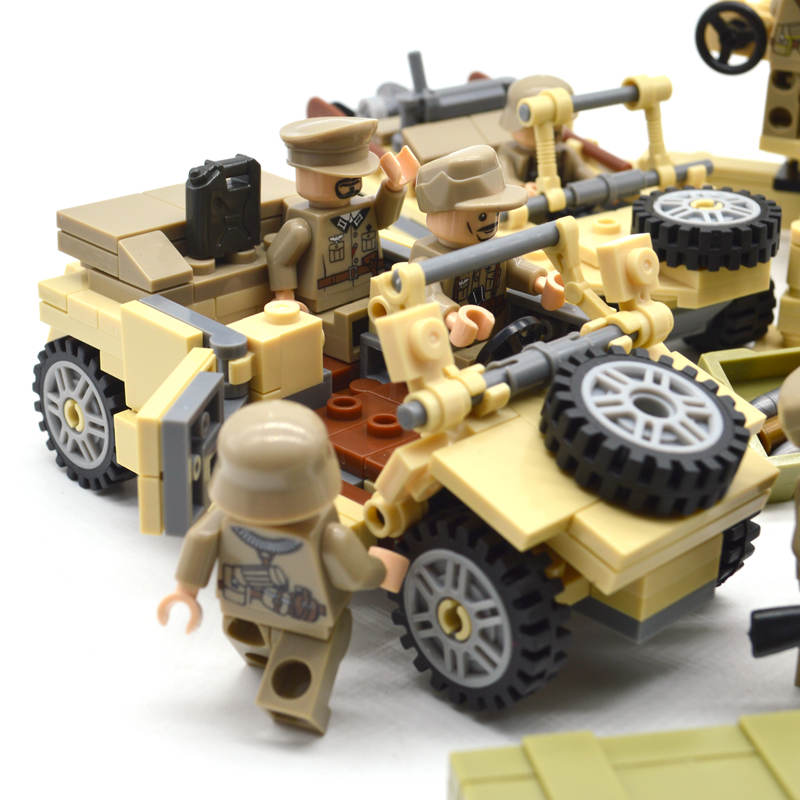 Image 4 - New ww2 blocks soldiers Military Army sets figures Building blocks toys for boys US Russia UK Trooper-in Blocks from Toys & Hobbies