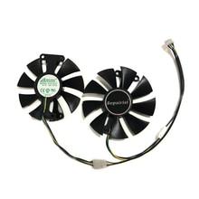 PowerColor Красный Дьявол RX470 RX480 RX580 охладитель GPU вентилятор охлаждения для Radeon Red Dragon AX RX 480 470 580 видеокарты как замена