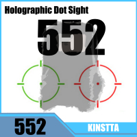 Hlurker Hunting Red Green Dot 552 Holographic Sight Scope Red Dot Reflex Sights Riflescope Fit 20mm Rail For Airsoft Gun