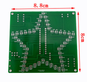 Image 5 - 1 PC Colorful Five Pointed Star LED water Light 51 MCU LED lights electronic DIY production kit 5V