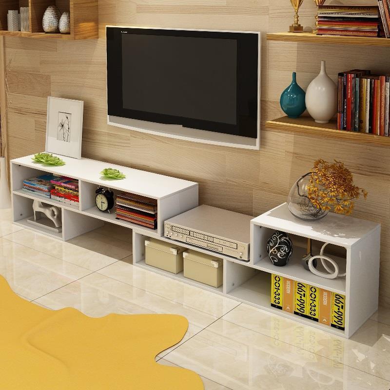 Cabinet Led Mesa Lemari Kast Para Soporte De Pie Modern Unit Retro Wood Mueble Table Meuble Living Room Furniture Tv Stand