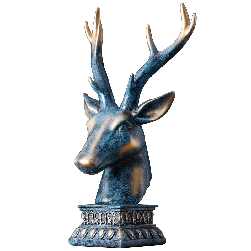Deer's Head Office Table Creative Decoration Home Decoration Accessories