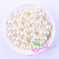 Hot Sell Free Shipping 500pcs Lot 12mm Ivory Cute Chunky ABS Pearl Bead Wrinkle Beads For