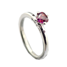 You & Me Ring 925 Sterling Silver Multi-Colored CZ Wedding Rings for women anillos mujer Fine Jewelry