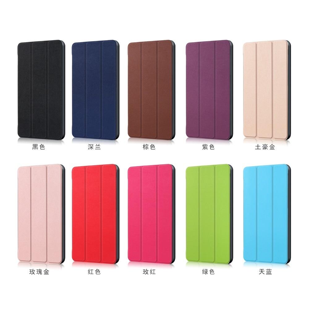 Image 5 - Чехол для Huawei MediaPad M5 lite 10 BAH2 W19/L09 10,1 чехол для Huawei M5 Lite 10 Wake Sleep Flip кожаный чехол с подставкой + стилусЧехлы для планшетов и электронных книг   -