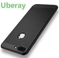 Luxus Hitzebeständigkeit Fall Für iPhone 6 6 s Plus Samsung Galaxy S8 Cases Handy Zubehör Für iPhone 7 7 Plus Gold Capa