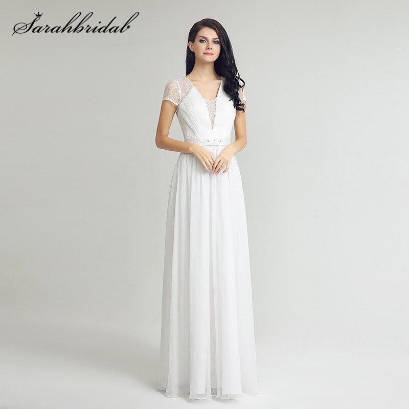 Aliexpress.com : Buy Simple White Wedding Dresses A Line