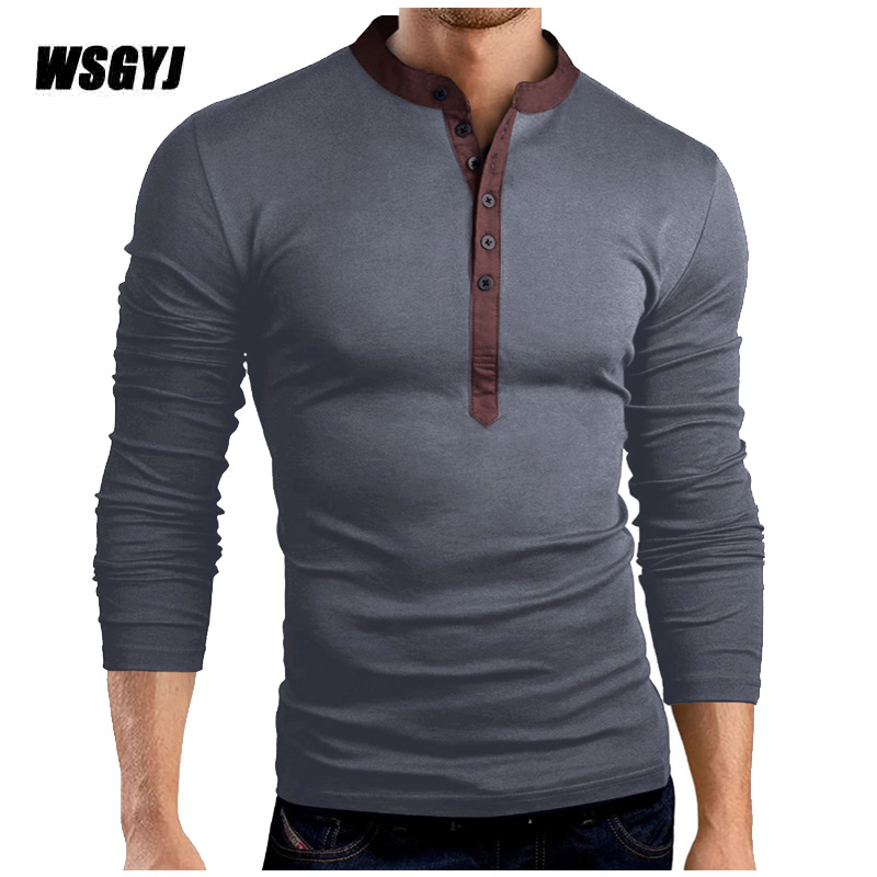 T Shirt Men Brand 2017 Fashion Men S Hooded Solid Color Stand Tops Tees T Shirt