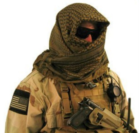 Disguise Scarfs Shemaugh Turban Headscarf Army Arab Scarf SAS Shemagh Yashmagh Arafat Tactical Cravat Scarves