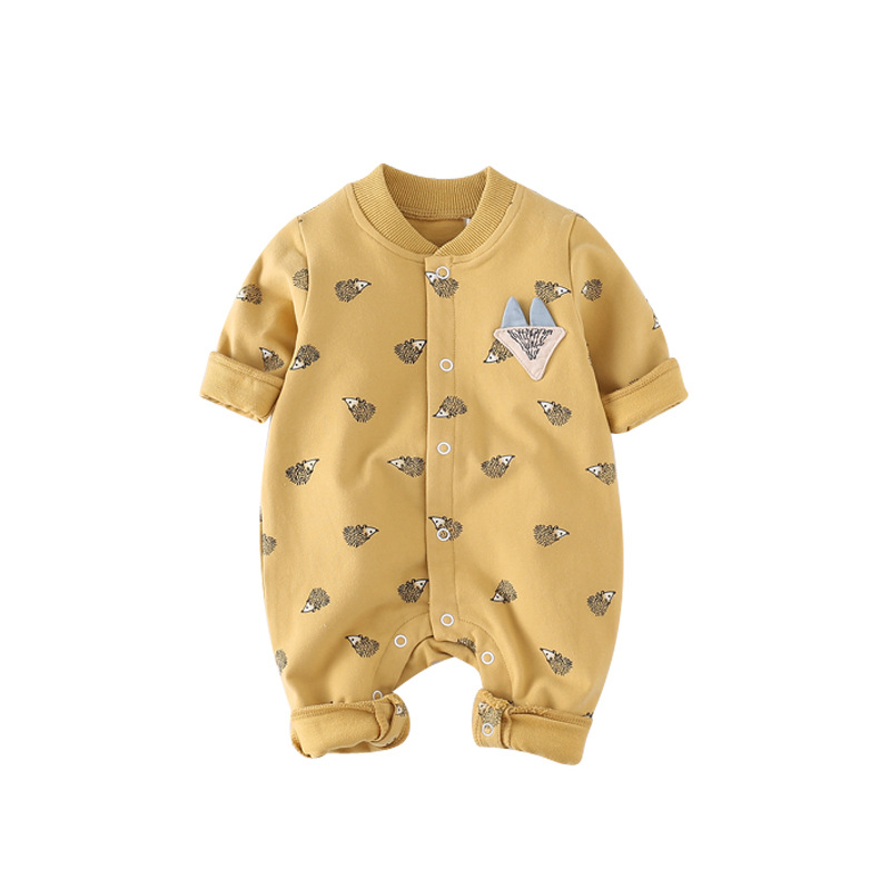 Spring Baby Toddler long Sleeve Rompers Kids Infant Jumpsuits roupas de bebe