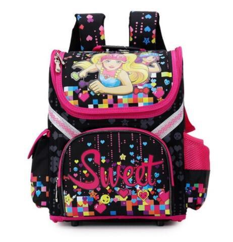 Марка школьный детская школьная сумка-рюкзак Новый Класс 1-3-5 студент Обувь для девочек бабочка цветок Детские ортопедические Школьные ранц...