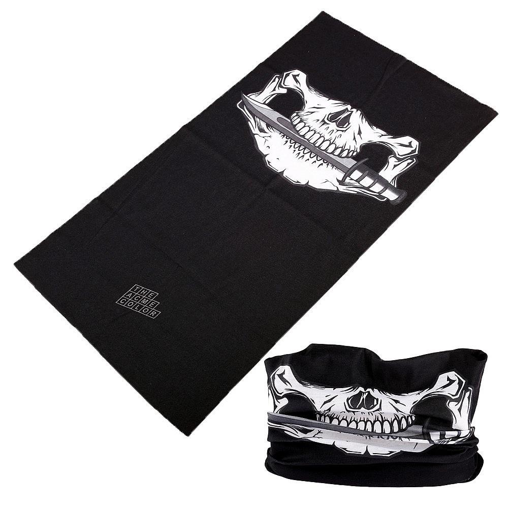 391-420 Skull Style Outdoor Versatility Bandana Tube Scarf Seamless Turban Headband hijab ski Bandana headwear Face Mask