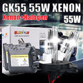 HID XNEON KIT DC 55W H4-2 H13-2 9004 9007 HALOGEN and xenon kit 4300k 5000k  6000k 8000k 10000k  hid car light source h4