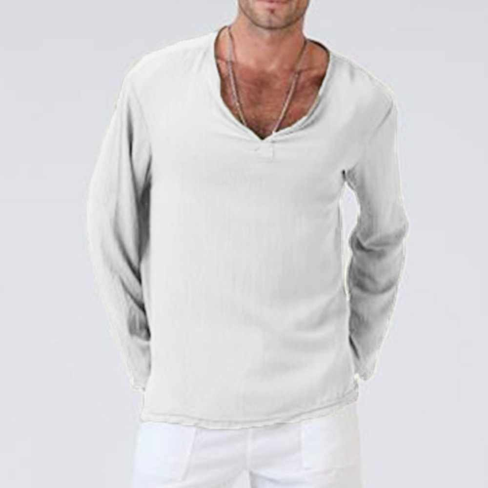 95295ee2b Men Cotton Linen Short Sleeve T Shirt Summer Thin Fabric Traditional  Clothes Male Retro t-